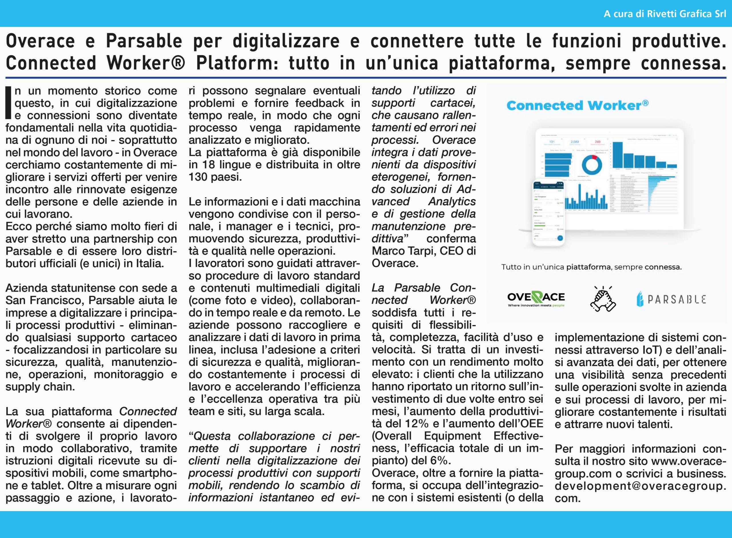 Overace-news-partnership-parsable