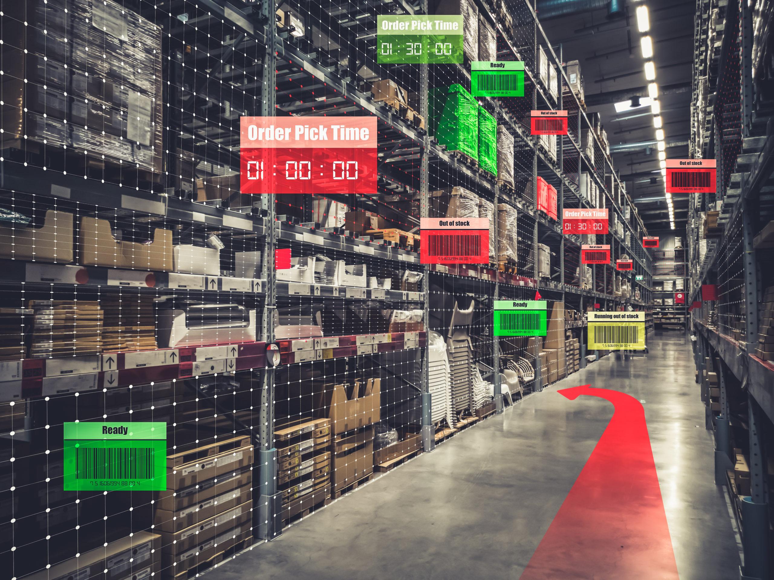 Smart logistics and process optimization
